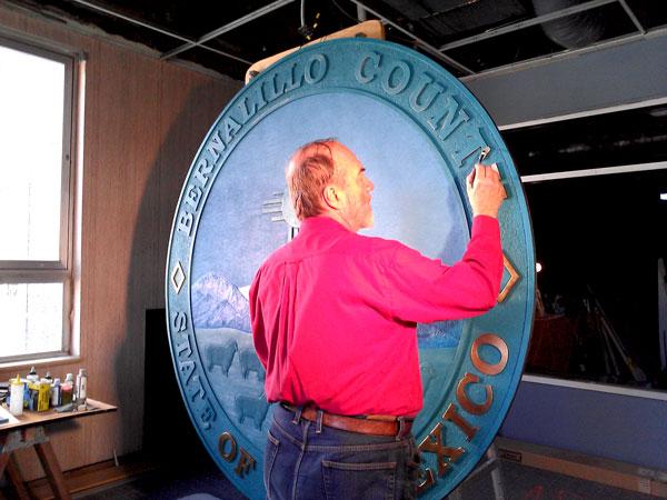 """""""Bernalillo County Seal IV"""""""