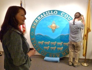 Creating the Great Seal of Bernalillo County, NM