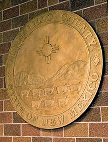 Bernalillo Co. Seal by Doug Czor