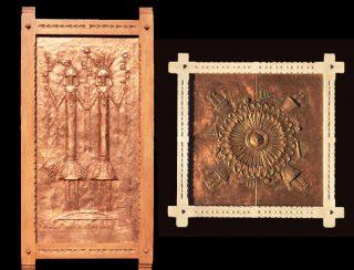 Furniture bas-reliefs by Doug Czor